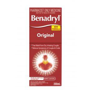 Benadryl Original Cough Syrup 200Ml
