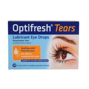 Optifresh Plus Unit Dose Eye Drops 0.5% 30