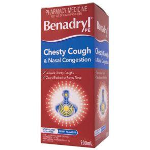 Benadryl Pe Chesty Cough And Nasal Congestion 200Ml