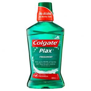 Plax Mouthwash Freshmint 500Ml