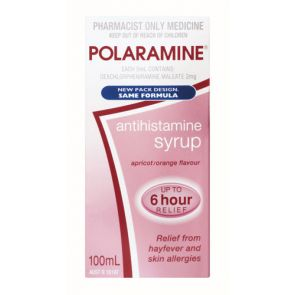 Polaramine Syrup 100Ml