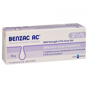Benzac-Ac Gel  2.5% 50G