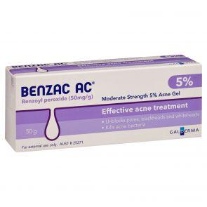 Benzac-Ac Gel 5% 50G