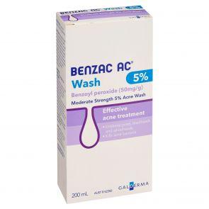 Benzac-Ac Wash 5% 200Ml