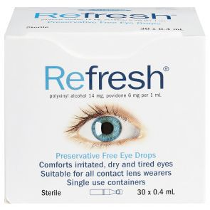 Refresh Eye Drops 0.4Ml X 30