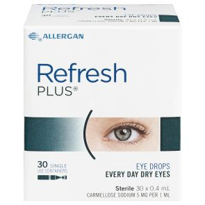 Refresh Plus Eye Drops 0.4mL X 30 Vials