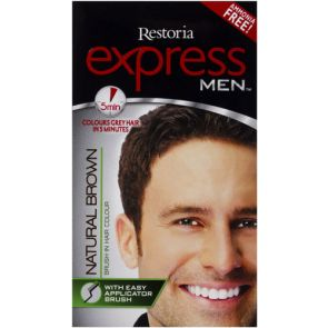 Restoria Express Men Natural Brown