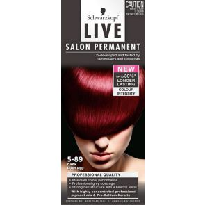 Schwarzkopf Live Salon Permanent 5.89 Dark Ruby Red