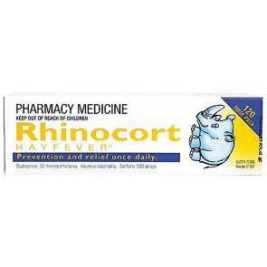 Rhinocort Hayfever Nasal Spray 120