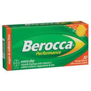 Berocca Performance Orange Effervescent 30 Tablets
