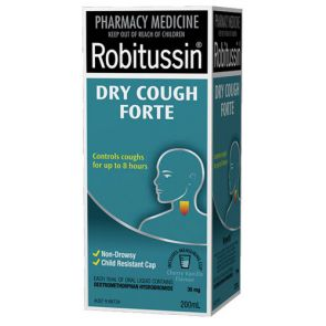Robitussin Dry Cough Forte Liquid 200Ml