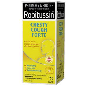 Robitussin Chesty Cough Forte Liquid 200Ml