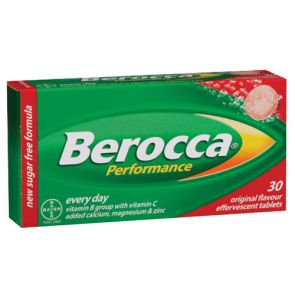 Berocca Performance Original Effervescent 30 Tablets