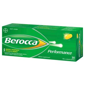 Berocca Performance Effervescent Tablets Regular 30