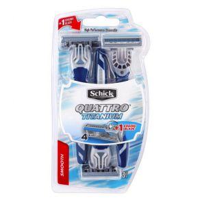 Schick Men Quattro Disposable Razors 3