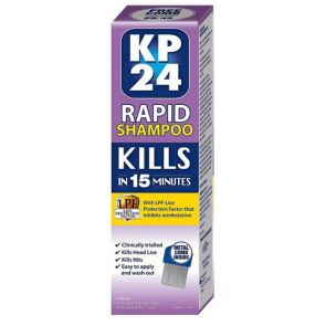 Kp 24 Rapid Shampoo With Lice Protection Factor 100Ml