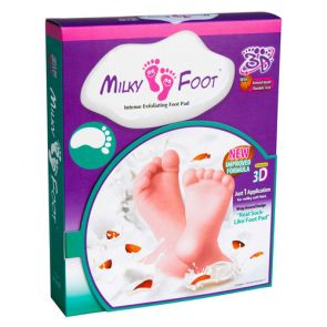 Milky Foot Exfoliating Footpad Large