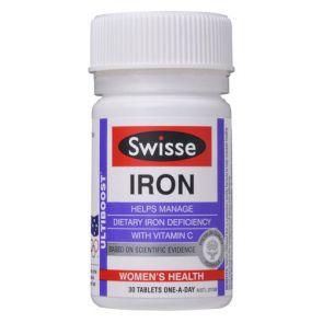 Swisse Ultiboost Iron 30 Tablets