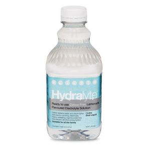Hydralyte Liquid Colourfree Lemonade 1L