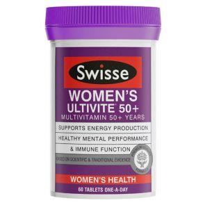 Swisse Women'S Ultivite 50+ Tablets 60