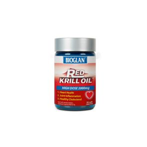Bioglan Red Krill Oil Soft Capsules 2000Mg 30