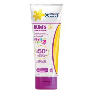 Cancer Council Kids Spf 50+ 250Ml