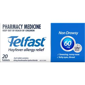 Telfast Tablets 60Mg 20