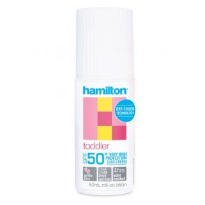 Hamilton Toddler Roll On 50+ 50Ml
