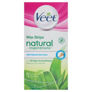 Veet Natural Cold Wax Strip 20