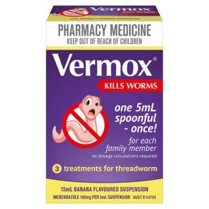 Vermox Suspension 15mL