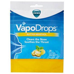 Vicks Vapodrops Buttermenthol Lozenges 24