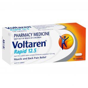 Voltaren Rapid Tablets 12.5Mg 10