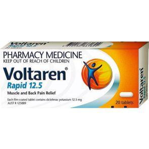 Voltaren Rapid 12.5mg 20 Tablets