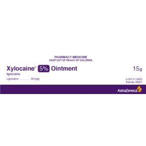 Xylocaine 607 Ointment 5% 35G