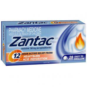 Zantac 12 Hour 150mg 28 Tablets