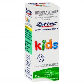 Zyrtec Kids Oral Drops 10Mg/Ml 20Ml