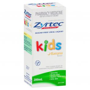 Zyrtec Kids Banana Solution 1Mg/Ml 200Ml