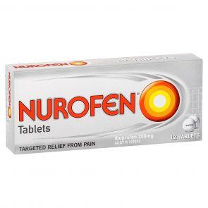 Nurofen Tablets 200Mg 12