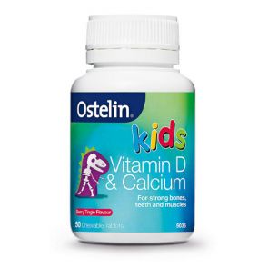 Ostelin Kids Vitamin D & Calcium Chewable Tablets 50
