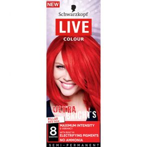 Schwarzkopf Live Colour Ultra Brights Pilar Red