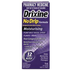 Drixine No Drip Moisturising Spray 15Ml