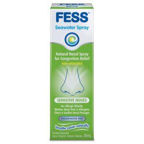 Fess Nasal Spray Sensitive Noses 30Ml