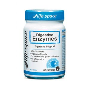 Life Space Digestive Enzy Capsules 60