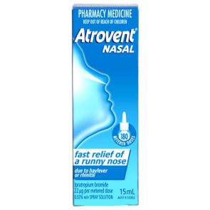 Atrovent Aqueous Nasal Spray 21Mcg 15Ml