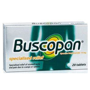Buscopan 10mg 20 Tablets