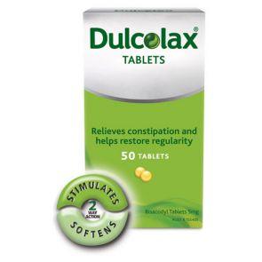 Dulcolax Tablets 5Mg 50
