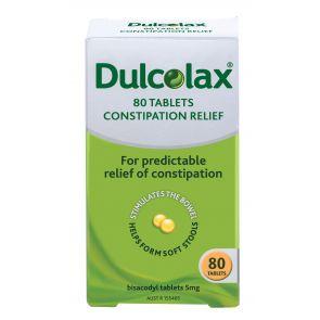 Dulcolax Tablets 5Mg 80