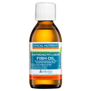 Ethical Nutrients Hi-Strength Liquid Fish Oil Mint 170Ml
