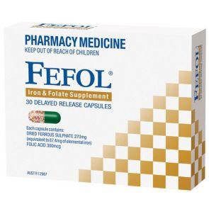 Fefol Spansules Capsules 30
