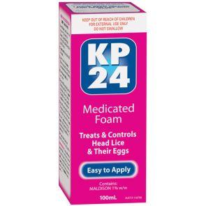 Kp 24 Medicated Head Lice Foam 100Ml